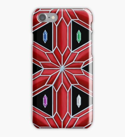 Rupee Stars - Red Rupees iPhone Case/Skin