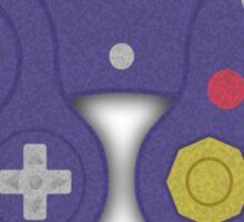 GAMECUBE CONTROLLER PRINT Sticker