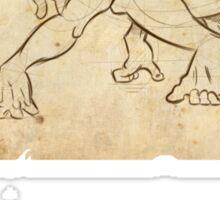 Tarzan Jane´s Sketch. Sticker