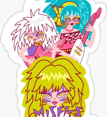 Misfits Jem and the Holograms Sticker