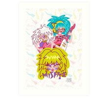 Misfits Jem and the Holograms Art Print