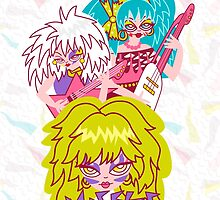 Misfits Jem and the Holograms by ladylove4u
