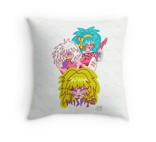 Misfits Jem and the Holograms Throw Pillow