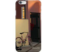 The Sax Player @ Der Pretzel Haus iPhone Case/Skin