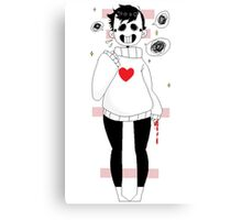 RPGMaker Game 'OFF' Zacharie Canvas Print