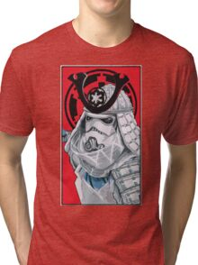 Samurai Trooper Tri-blend T-Shirt