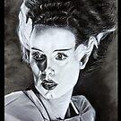 Bride of Frankenstein by ArtbyJoshua