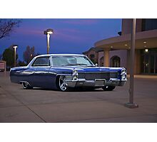 1965 Cadillac Coupe De Ville 'Low Rider' Custom Photographic Print
