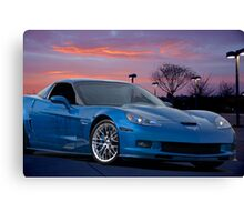 2007 Chevrolet Corvette Z06 427 Canvas Print