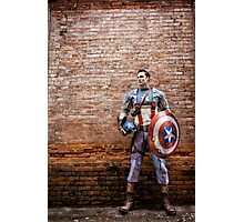Michael Mulligan as Captain America (Photography by Sean William / Dragon Ink Photography) Photographic Print