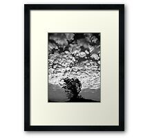 Beachy Head skyscape Framed Print