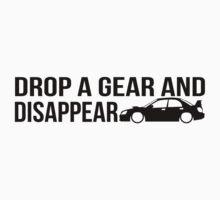 """Drop a gear and disappear"" - Subaru WRX STI Kids Clothes"