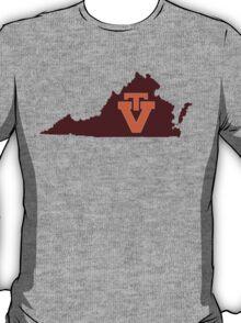 Maroon VT T-Shirt