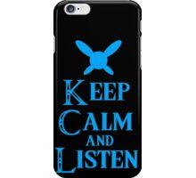 Hey! Listen! Hey! iPhone Case/Skin