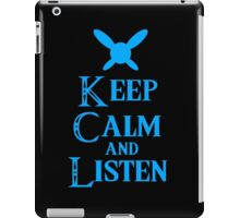 Hey! Listen! Hey! iPad Case/Skin