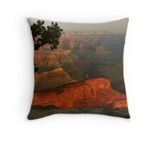 Early Morning, Grand Canyon Throw Pillow