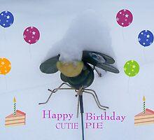 Happy birthday by Heather Mudge