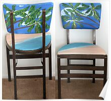 Folding Chairs II Poster