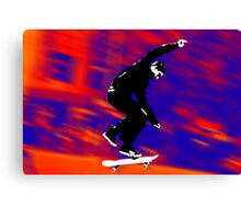 Skateboarder 2 Canvas Print