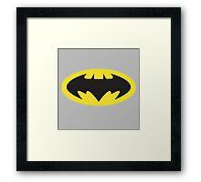 "Batman ""The Brave & the Bold"" Logo Framed Print"