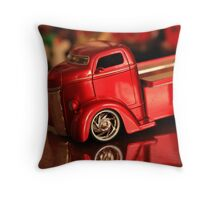 christmas truck! Throw Pillow