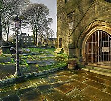 Haworth Church and The Parsonage by Steve  Liptrot