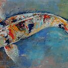 Japanese Koi by Michael Creese