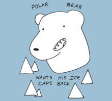 Polar Bear wants his Ice caps back by DiabolickalPLAN