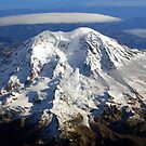 Majestic Mount Rainier by Tori Snow