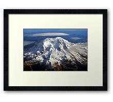 Majestic Mount Rainier Framed Print