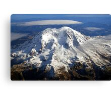 Majestic Mount Rainier Canvas Print