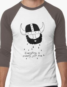 Everything is probably just fine Viking Men's Baseball ¾ T-Shirt
