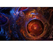 "Fractal Flame Art: ""Embryo"" Photographic Print"