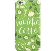 Matcha Latte iPhone Case/Skin