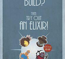 League of legends - Buy an Elixir! by Nundei