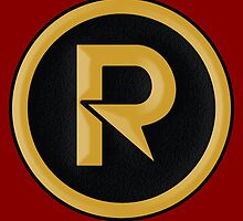 """Robin (Damian Wayne) - """"New 52"""" Style Logo by LinearStudios"""