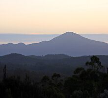 Twilight - South West Tasmania by Ruth Durose