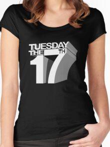 Tuesday the 17th Women's Fitted Scoop T-Shirt