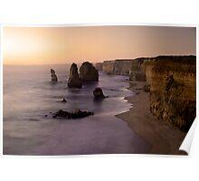 12 Apostles Sunset - Australia Poster