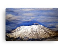 Mount Saint Helens Canvas Print