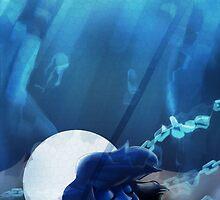 I am Lapis Lazuli  by msillzie