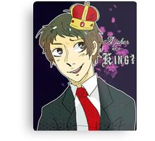Joker or a King? Metal Print