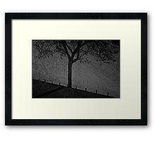 One Tree Wall Framed Print
