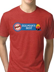 Egg-Man's Best Tri-blend T-Shirt