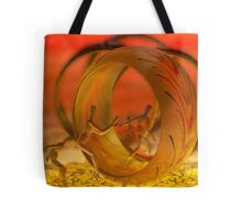 """They've got me jumping through hoops"" Tote Bag"