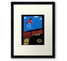 Hoop Dream Framed Print
