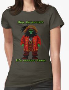 Lechuck Womens Fitted T-Shirt