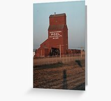 CNR North Battleford Sask. Greeting Card