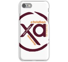 Chi Alpha Christian Fellowship @VT iPhone Case/Skin