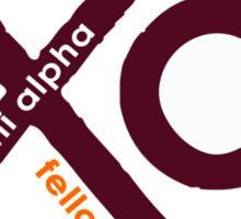 Chi Alpha Christian Fellowship @VT Sticker